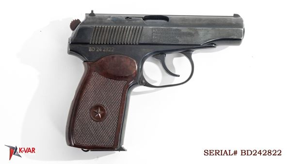 Picture of Arsenal BD2424822 9x18mm Makarov 8 Round Bulgarian Pistol 1999