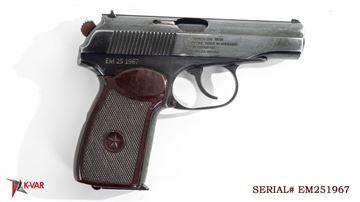 Picture of Arsenal EM251967 9x18mm Makarov 8 Round Bulgarian Pistol 1985