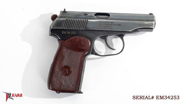 Picture of Arsenal EM34253 9x18mm Makarov 8 Round Bulgarian Pistol 1994
