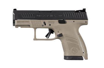 Picture of CZ P-10S 9mm Flat Dark Earth Semi-Automatic 12 Round Sub-Compact Pistol
