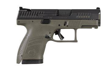 Picture of CZ P-10S 9mm OD Green Semi-Automatic 12 Round Sub-Compact Pistol