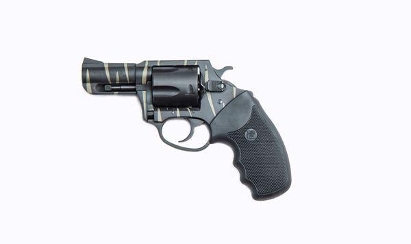 Picture of Charter Arms Bulldog Tiger .44 Special 5rd Revolver Black Tiger Stripe