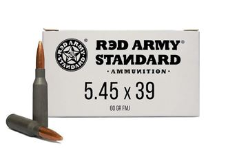 Picture of Red Army Standard Ammunition 5.45x39 60gr Lead Core 1000 Case Ammo