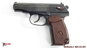 Picture of Arsenal BE16180 9x18mm Makarov 8 Round Bulgarian Pistol 1976