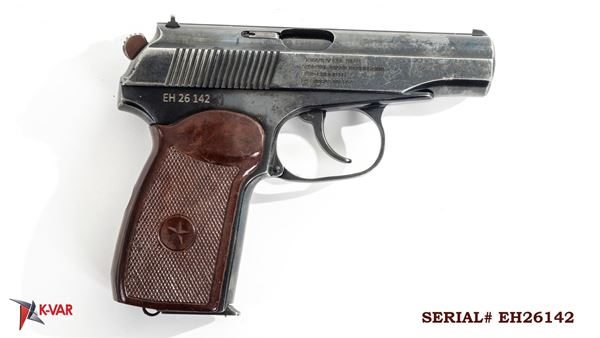 Picture of Arsenal EH26142 9x18mm Makarov 8 Round Bulgarian Pistol 1986