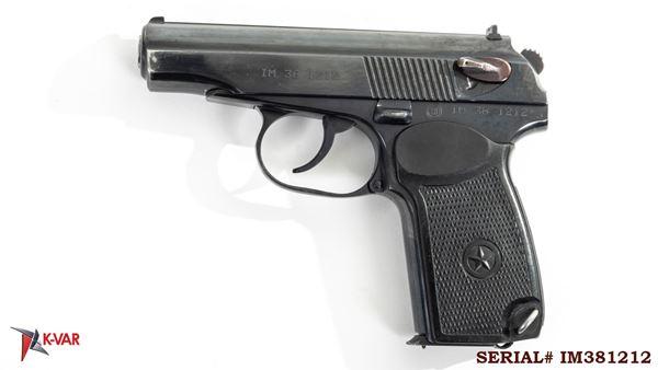 Picture of Arsenal IM381212 9x18mm Makarov 8 Round Bulgarian Pistol 1998