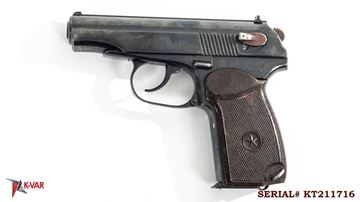 Picture of Arsenal KT211716 9x18mm Makarov 8 Round Bulgarian Pistol 1981