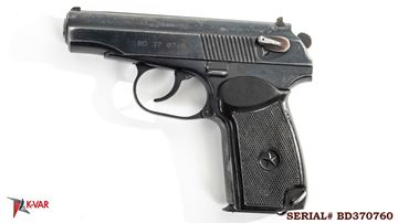 Picture of Arsenal BD370760 9x18mm Makarov 8 Round Bulgarian Pistol 1997