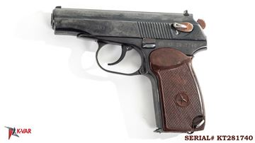 Picture of Arsenal KT281740 9x18mm Makarov 8 Round Bulgarian Pistol 1988