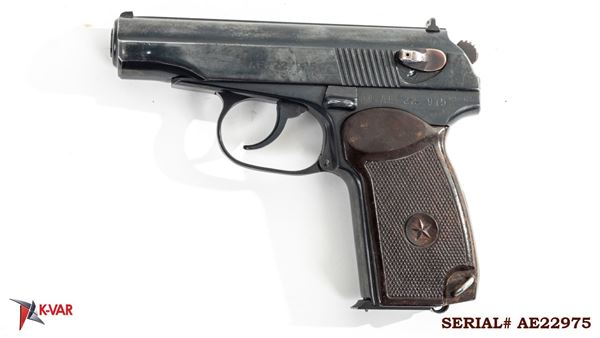 Picture of Arsenal AE22975 9x18mm Makarov 8 Round Bulgarian Pistol 1982