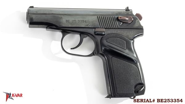 Picture of Arsenal BE253354 9x18mm Makarov 8 Round Bulgarian Pistol 1985