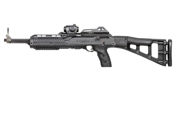 Picture of Hi-Point Firearms Model 995 9mm Black w/ Crimson Trace Red Dot Scope 10 Round Carbine