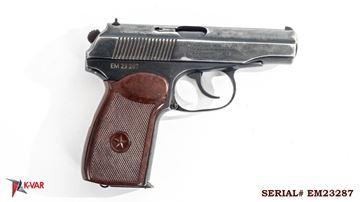 Picture of Arsenal EM23287 9x18mm Makarov 8 Round Bulgarian Pistol 1983