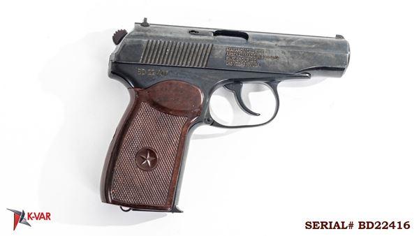 Picture of Arsenal BD22416 9x18mm Makarov 8 Round Bulgarian Pistol 1982