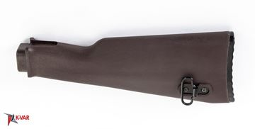 Picture of Arsenal AK47 Plum Polymer Buttstock with Cleaning Kit Compartment for Milled Receivers