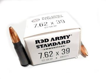 Picture of Red Army  Standard 7.62x39mm 122GR Lead Core Ammunition 20 Rounds