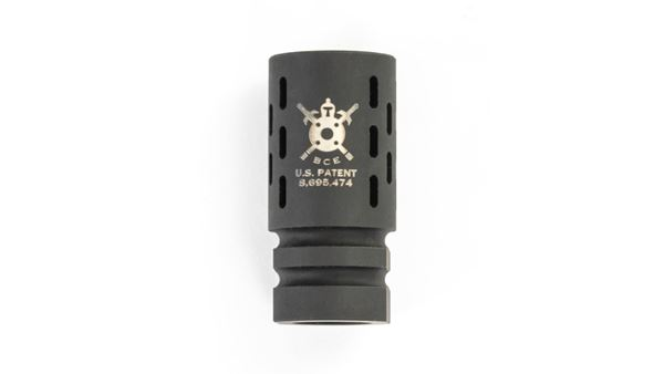 """Picture of BCE-BattleComp 1.0  Black,1.75"""", for 5.56 Nato and .223 Rem"""