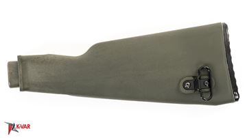 Picture of Arsenal AK47 OD Green Polymer Buttstock with Cleaning Kit Compartment for Milled Receivers