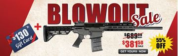 Picture of JTS M12AR w/ MLOK Rail for $381.50 with Purchase of $130 Gift Card