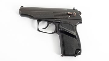 Picture of Arsenal Makarov 8 Round Bulgarian Pistol 9x18mm Black Sporting Grip Excellent Condition